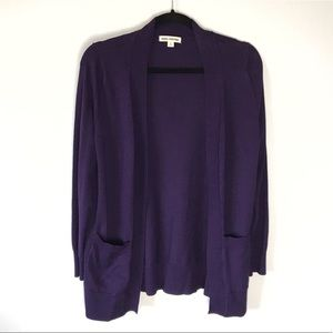 Zenana Outfitters Purple Cardigan